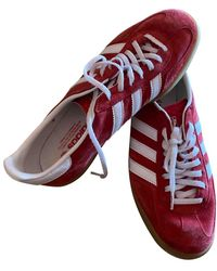 adidas Gazelle Low Trainers - Red