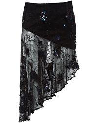 Matthew Williamson Black Viscose Skirt