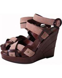 Barbara Bui - Leather Sandals - Lyst