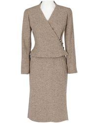 Chanel - Cashmere Skirt Suit - Lyst
