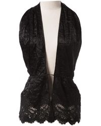 Givenchy - Pre-owned Black Viscose Tops - Lyst