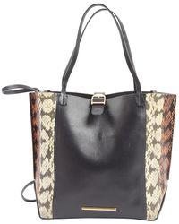 Roland Mouret - Black Leather Handbag - Lyst