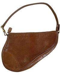 Dior Saddle Leder Clutches - Mehrfarbig