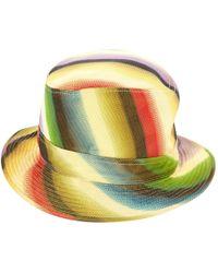 Hermès - Pre-owned Multicolour Cloth Hats - Lyst