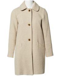 A.P.C. - Wool Coat - Lyst