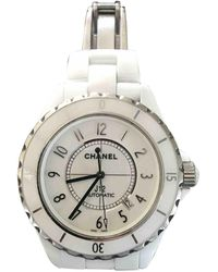 Chanel Reloj J12 Automatique - Blanco