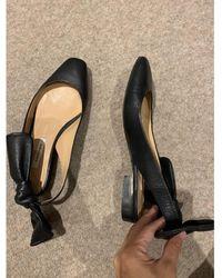 Carven Leather Sandals - Black