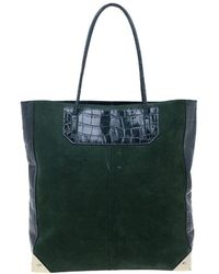 Alexander Wang Prisma Green Leather