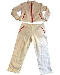 Burberry Suit Jacket - White