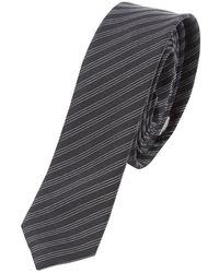 Dior Seide krawatten - Schwarz