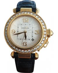 Cartier Pasha Yellow Gold Watch - Multicolor