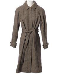 Vanessa Seward Wool Coat - Brown