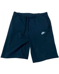 Nike Shorts Baumwolle Schwarz