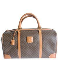 Louis Vuitton Valigie in tela marrone - Multicolore