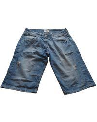 Étoile Isabel Marant Shorts en Coton Bleu