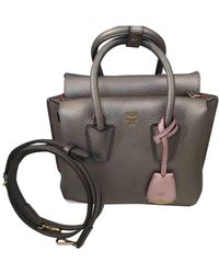 MCM Milla Leather Handbag - Metallic