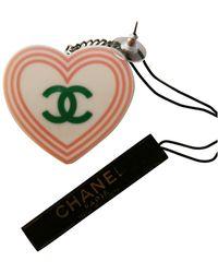 Chanel CC Ohrringe - Gelb