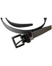 Michael Kors Silver Leather Belts - Multicolor