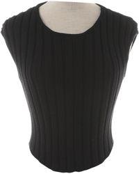 Chanel Pulls.Gilets en Laine Noir