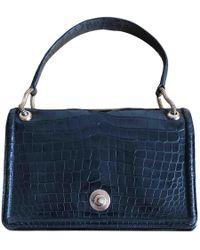 337e5c865b Hermès Birkin 35 Crocodile Handbag in Black - Lyst