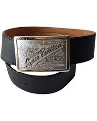 Louis Vuitton Leather Belt - Black