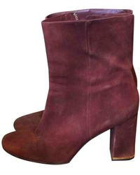 Michael Kors Leather Boots - Multicolour