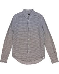 Louis Vuitton - Pre-owned Grey Cotton Shirts - Lyst
