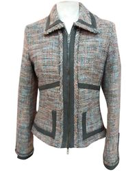 Karen Millen Brown Wool Jacket