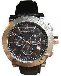Burberry Black Steel Watch