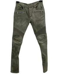Balmain Slim Jeans - Grün