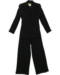 Hermès - Pre-owned Vintage Navy Wool Jacket - Lyst