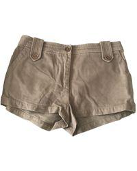 Étoile Isabel Marant - Cotton Shorts - Lyst