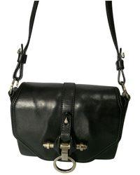 Givenchy Obsedia Leather Crossbody Bag - Black