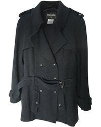 Chanel Abrigo - Azul
