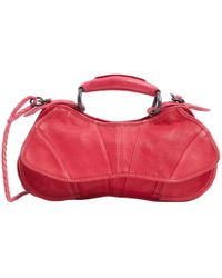 CoSTUME NATIONAL - Pre-owned Red Leather Handbags - Lyst