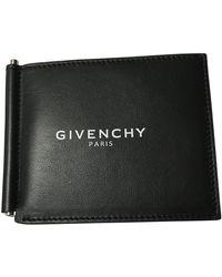 Givenchy Leder Kleinlederwaren - Schwarz