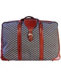 Goyard Cloth Travel Bag - Brown