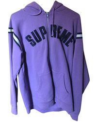 Supreme Sweatshirt - Lila