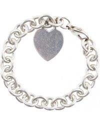 Tiffany & Co. - Silver Silver Bracelets - Lyst