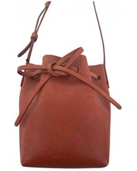 Mansur Gavriel Borsello Bucket in Pelle - Multicolore
