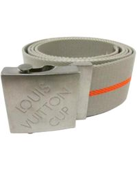 Louis Vuitton - Cloth Belt - Lyst