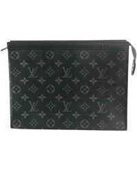 Louis Vuitton Bolsos en lona negro Voyage