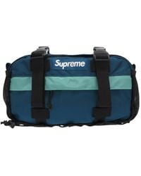 Supreme Black Synthetic Handbag