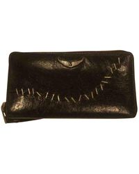 Zadig & Voltaire - Black Leather Wallet - Lyst