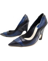 Dior - Pre-owned Leather Heels - Lyst