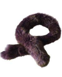 Dior Pañuelos en zorro violeta - Multicolor