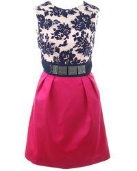 Mary Katrantzou Wolle Midi Kleid - Mehrfarbig