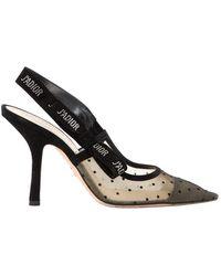 Dior Scarpe col tacco in tela nero J'a