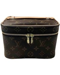 Louis Vuitton Nice Cloth Vanity Case - Brown