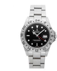 Rolex Explorer Ii 42mm Black Steel Watches